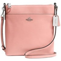 COACH NORTH/SOUTH SWINGPACK IN EMBOSSED TEXTURED LEATHER   macys.com