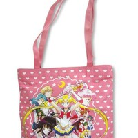 Sailor Moon S: Sailor Soliders Pink Tote Bag