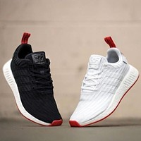 Adidas NMD R2 Primeknit Boost Sport Running Shoes Classic Casual Shoes Sneakers