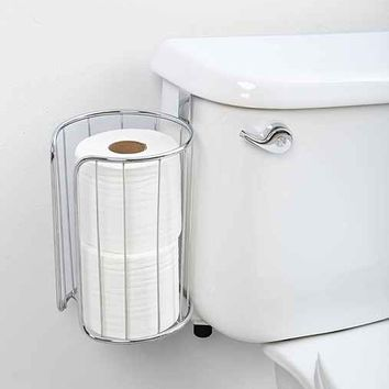 Double-Roll Over-The-Tank Toilet Paper Holder