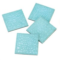 Saurian Square Coaster Set Of 4