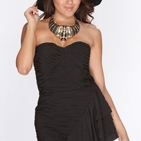 Black Pleated Sweetheart Neckline Sexy Party Dress @ Amiclubwear sexy dresses,sexy dress,prom dress,summer dress,spring dress,prom gowns,teens dresses,sexy party wear,women's cocktail dresses,ball dresses,sun dresses,trendy dresses,sweater dresses,teen cl