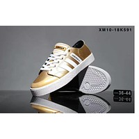 Adidas adidas adidas pair shoes for the 2017 autumn and winter sports shoes for the new leisure sports F-SSRS-CJZX Gold