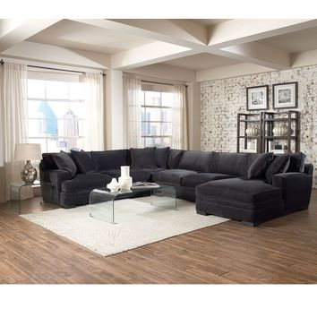 Teddy Fabric Sectional Living Room Furniture Collection - furniture - Macy's