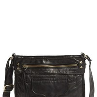 Junior Women's T-Shirt & Jeans 'Washed' Small Crossbody Bag