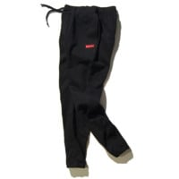 Autumn and winter Supreme trousers youth leisure classic solid color Wei trousers foot pants tide Black