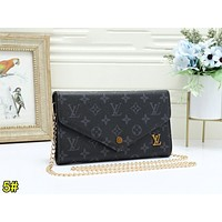 Louis Vuitton LV Fashion Women Leather Multicolor Crossbody Satchel Shoulder Bag 5#