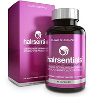 Flawless Botanics Hairsentials Hair Growth Accelerator, 90 Capsules