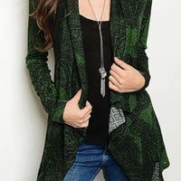 Eliza Draped Cardigan