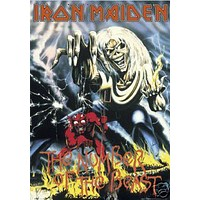 Iron Maiden The Number Of The Beast Music Poster