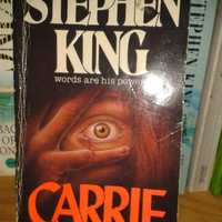 Stephen King, Carrie,vintage paperback,collectible book 1981,Americana,Horror,Fiction