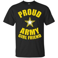 Proud Army Girlfriend Tshirt Shirts & Tees_Black