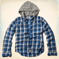Surfers Point Hooded Shirt