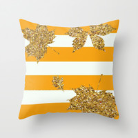Falling for Fall Throw Pillow by Pink Berry Pattern