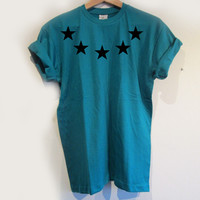 STAR TEE / TEAL / LIMITED EDITION