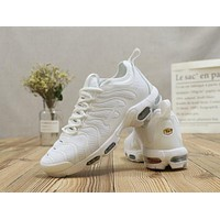 Nike Air Max AirMax Plus Tn Ultra Triple White Running Shoes