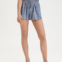 AE Striped Dolphin Short, Blue