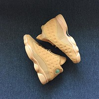 Nike Air Jordan Retro 13 Wheat Golden Harvest/Elemental Gold Men Sneakers Sports Shoes