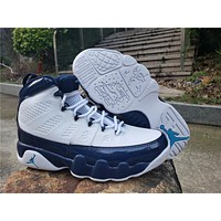 Air Jordan 9 Retro White/Blue