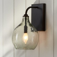 Clift Glass Sconce - Clear