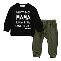 Autumn Kids Clothes Boys Clothing Set Baby Girls Clothes Set Kids Long Sleeve T-shirt+Pants Outfits Tracksuit