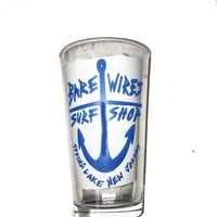 Bare Wires Pint Glass