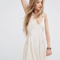Moon River Eyelet Detail Dress