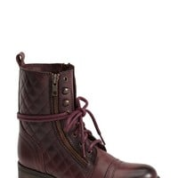 Women's Steve Madden 'Yanki' Quilted Leather Mid Boot,