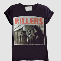 The Killers Shirt | Alternative Indie Rock Premium Quality Band Tee | Men Women T-Shirt M