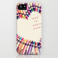 love in every color iPhone & iPod Case by Shannonblue