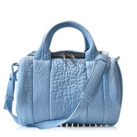 Alexander Wang Designer Handbags Rockie Atlas Pebbled Leather Satchel