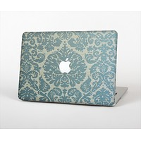 "The Subtle Green Lace Pattern Skin Set for the Apple MacBook Pro 13"" with Retina Display"