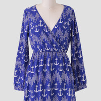 Out To Sea Anchor Dress