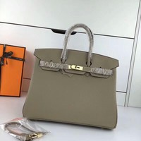 Ready Stock Hermes Women's Leather Birkin Handbag Inclined Shoulder Bag #705
