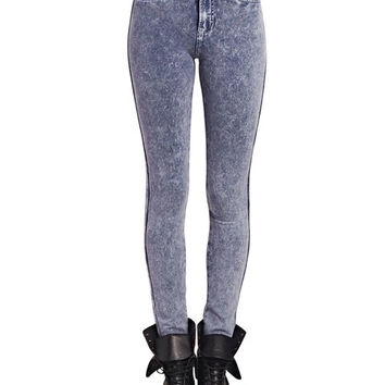 Super Soft Acid Wash Jeggings | Wet Seal