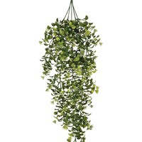 "Plastic Outdoor Boxwood and Berry Hanging Bush - 32"" Long"