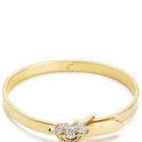 Pave Heart Hinge Bracelet by Juicy Couture