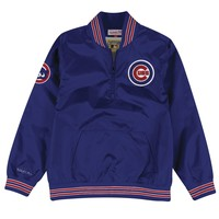 1/4 Zip Nylon Pullover Chicago Cubs