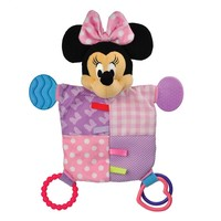 Disney's Minnie Mouse Teether Blanket by Kids Preferred - Baby Girl (Pink)