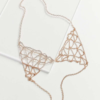 8 Other Reasons Illusions Bralette Body Chain | Urban Outfitters
