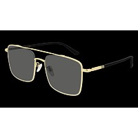 Gucci - GG0610SK 56mm Gold Sunglasses / Grey Lenses