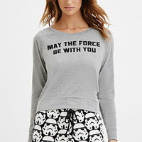 May The Force PJ Top