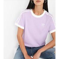 ADIDAS Three stripe T-Shirt