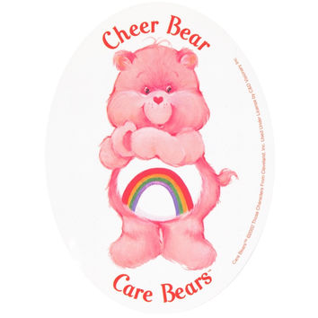 Care Bears - Cheer Bear Decal