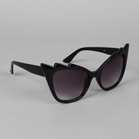 Spiked Brow Sunglasses