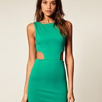 ASOS | ASOS Bodycon Dress with Cut Out Sides at ASOS