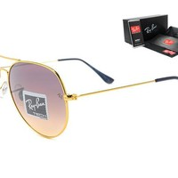 Ray-Ban sunglass AA Classic Aviator Sunglasses, Polarized, 100% UV protection [2974244920]