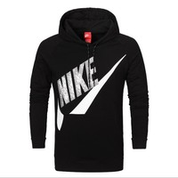 NIKE fashion women and man coat long sleeve warm Hooded pullover top PLUS SIZE-1