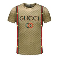2018 Men gucci  t shirt d008