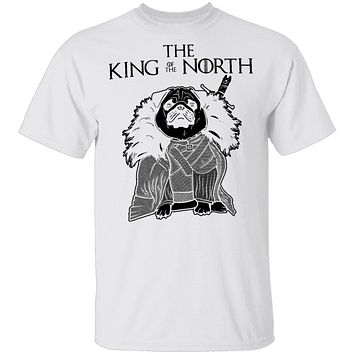 The King Of The North Pug T-Shirt